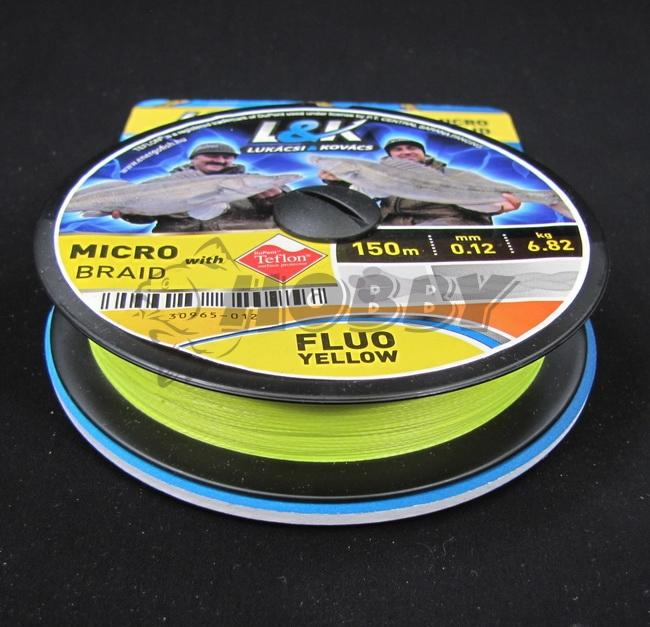 f59558ea7 L&K Zander micro braid 0,08mm/4,55kg/150m - Rybárske a poľovnícke ...