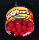 Benzar Coated Wafters Strawberry 8mm 40ks Red