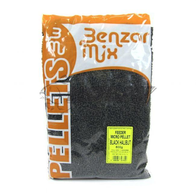 Benzar Feeder Micro Pellet Black Halibut 800g - Rybárske a poľovnícke  potreby Hobby Malacky