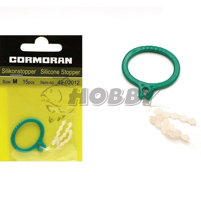 transparent CORMORAN Silikonstopper
