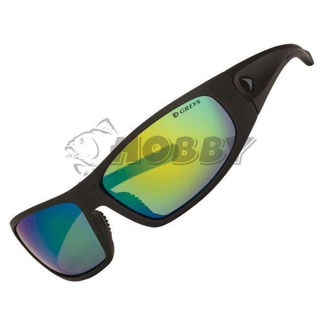 309fa54e6 Greys Slnečné okuliare G1 Sunglasses Matt Carbon/Green Mirror ...