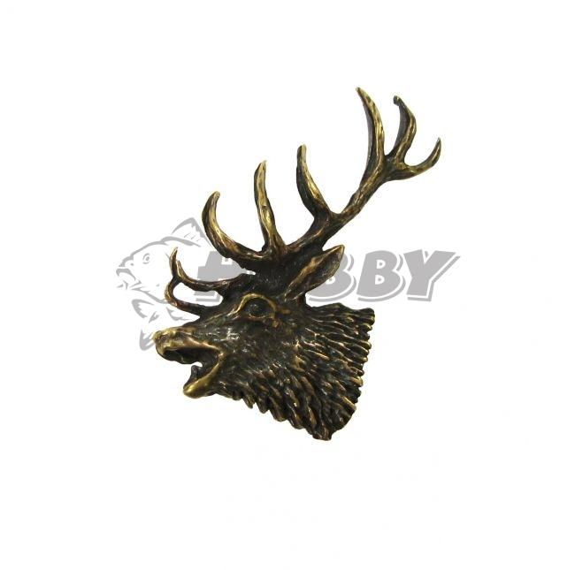 87b65fcd8 Odznak Imre jeleň ručiaci-hlava veľká - Rybárske a poľovnícke ...