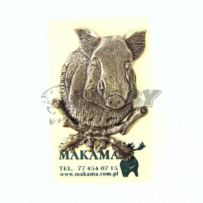 3c1c5c103 Odznak MAK veľký Diviak-z predu - Rybárske a poľovnícke potreby ...