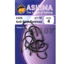 Ashima háčky - C425 Anti-Eject č.4/10ks  bez protihrotu
