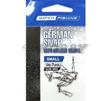 Carp Pro Obratlík s karabinkou German Snap veľ.S/7ks