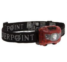 Čelovka Silverpoint Hunter XL 120 červená