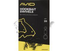 Avid Carp OUTLINE Hookbait Swivels 20ks