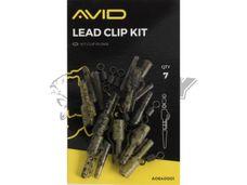 Avid Carp OUTLINE Lead Clip Kit č.8/7ks