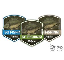 Delphin Vôňa do auta GO FISHING! Carp Sport fresh