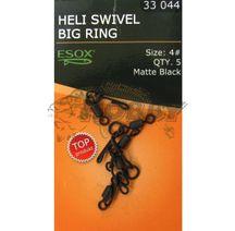 Esox Heli Swivel Big Ring size 4# /5ks