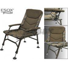 Esox Kreslo Steel Chair LUX 2018