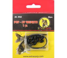 Extra Carp Pop-Up Weights 1g/10ks