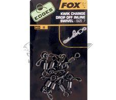 FOX Edges kwik change drop off Inline swivel č.7/8ks