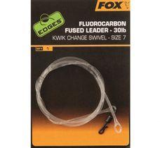 FOX Fluorocarbon fused leader - size 7 kwik change