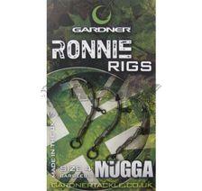 Gardner Montáž Ronnie Rig bez Protihrotu veľ.6/3ks