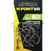 Háčiky Mivardi M-Point WG č.4/10ks Barbless