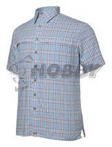 Košeľa Geoff Anderson Tonga krátky rukáv modrá