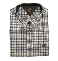 Košeľa Indiform s výšivkou na vrecku M-XXXXL