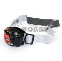 Čelovka so sensorom na 3x AAA, 1+2 LED, IR čidlo+fokus