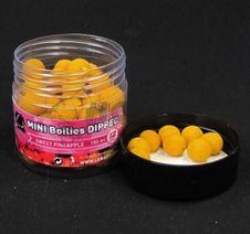 Lk Baits Mini Boilies v Dipe Sweet Pineapple 150ml 12mm