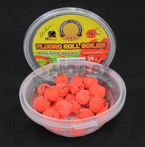 LK Baits Rohlíkové boilies Fluoro 14mm/40g Wild Strawberry