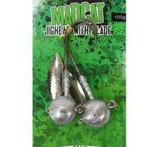 MADCATJigová Hlava Jighead with Blade 100g/2ks