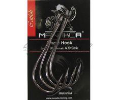 Háčiky Mosella Mantikor Single Hook 8/0 4ks