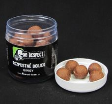 No Respect Rozpustné Boilies Gingy 20mm/150g