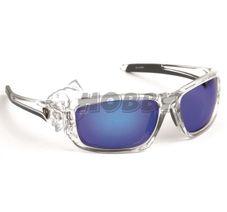 Polarizačné okuliare FOX Rage Sunglasses wraps trans / Mirror Blue / brown l