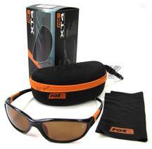 Polarizačné okuliare FOX XT4 Black Frame/Brown Lense