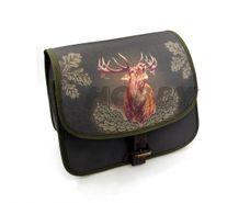 Poľovnícka taška cez rameno jeleň