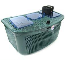 Rybársky košík DE LUXE soft, 3 krabičky