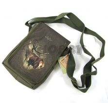Taška na plece Wild Zone vzor ručiaci jeleň postava z boku