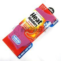 Thermo ponožky Heat Holders dámske fialovoružová