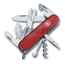 Vreckový nožik VICTORINOX Climber červený