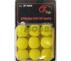 Zfish Penová Nástraha Foam Pop up Baits Yellow 15mm