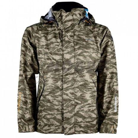Bunda Shimano Dryshield Basic Jacket Khaki Camo veľ. XL
