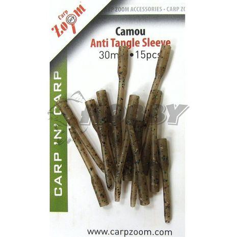 Carp Zoom hadičky proti zamotaniu 30mm/15ks Camo - CZ1340