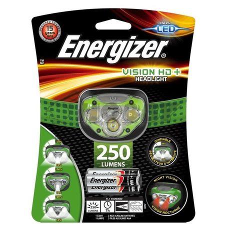 Čelovka Energizer Vision HD+ +3AAA