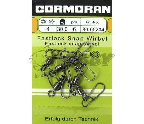 Cormoran Fastlock Snap Wirbel veľ.2/40kg/5ks