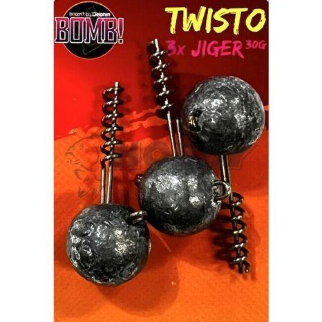 Delphin BOMB Twisto Jiger 7,5g 3ks