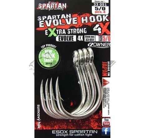 Esox Spartan Háčiky Evolve Hook veľ.5/0 - 4ks