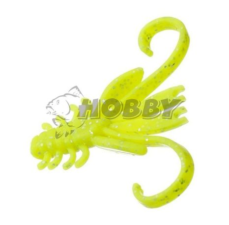 "FLAGMAN Dilly 1,5"" chartreuse 10pc squid"