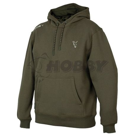 Fox Mikina Collection Green Silver Hoodie XXXL