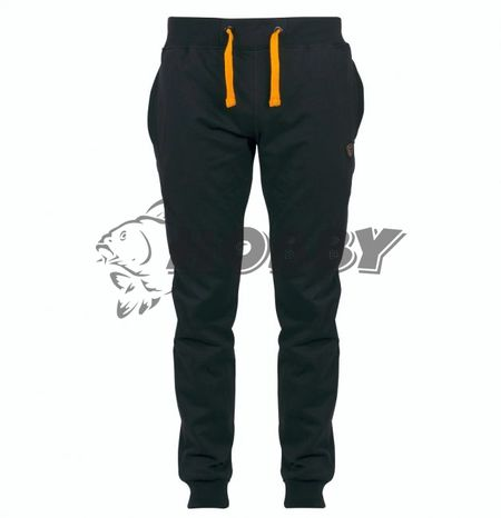 FOX Tepláky Black & Orange Lightweight Joggers
