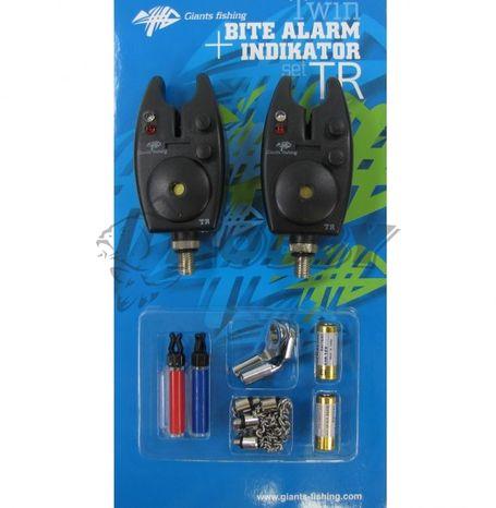 Giants Fishing Sada hlásičov s indikátormi Bite alarm set TR