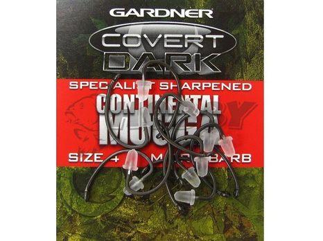 Háčiky Gardner Hand Sharpened Continental Mugga Barbed veľ.6/10ks