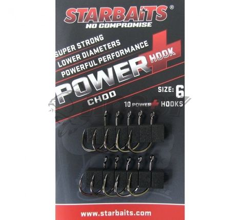 Háčiky StarBaits Power Chod veľ.4/10ks