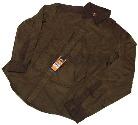 Košeľa Hillman XPR Shirt model 515 s dlhým rukávom farba OAK