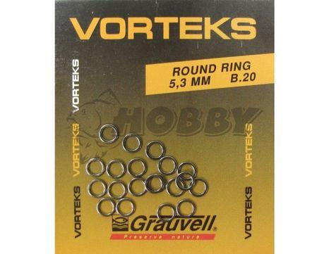 Krúžky Grauvell Vorteks 5,3mm/20ks